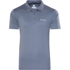 Columbia Zero Rules Polo Shirt Men graphite